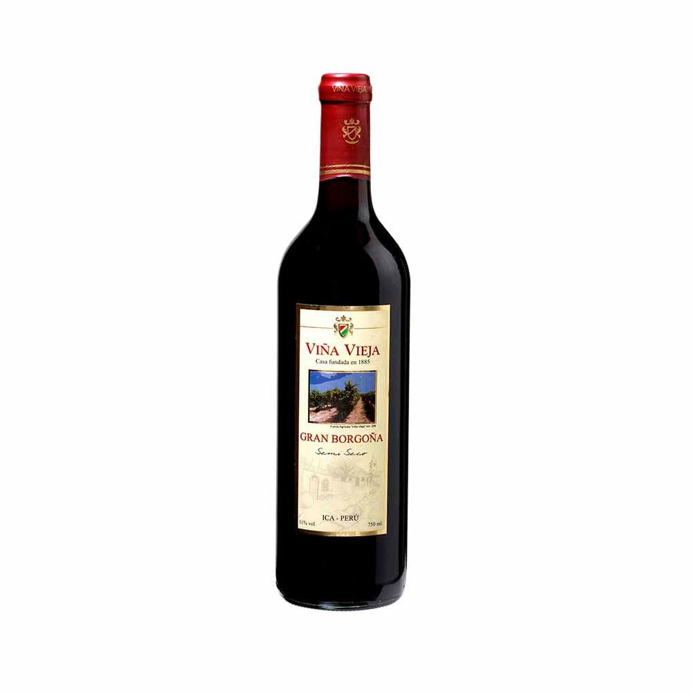 vino vi a vieja gran borgo a semi seco botella 750ml vivanda