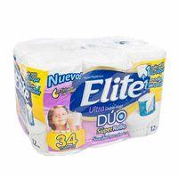 papel-higienico-de-doble-hoja-elite-ultra-duo-super-rollo-paquete-12un