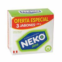 jabon-medicado-neko-aloe-3-pack-375gr