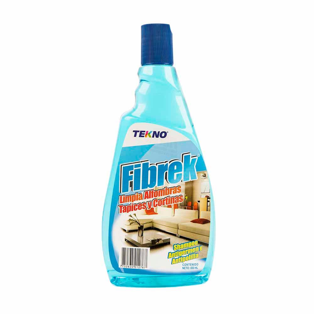Shampoo Para Alfombras Fibrek Tekno Limpia Y Desinfecta Frasco  ~ Productos Para Limpiar Alfombras En Seco