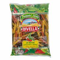 fideos-divella-penne-rigate-pomodoro-e-spinac-bolsa-500gr