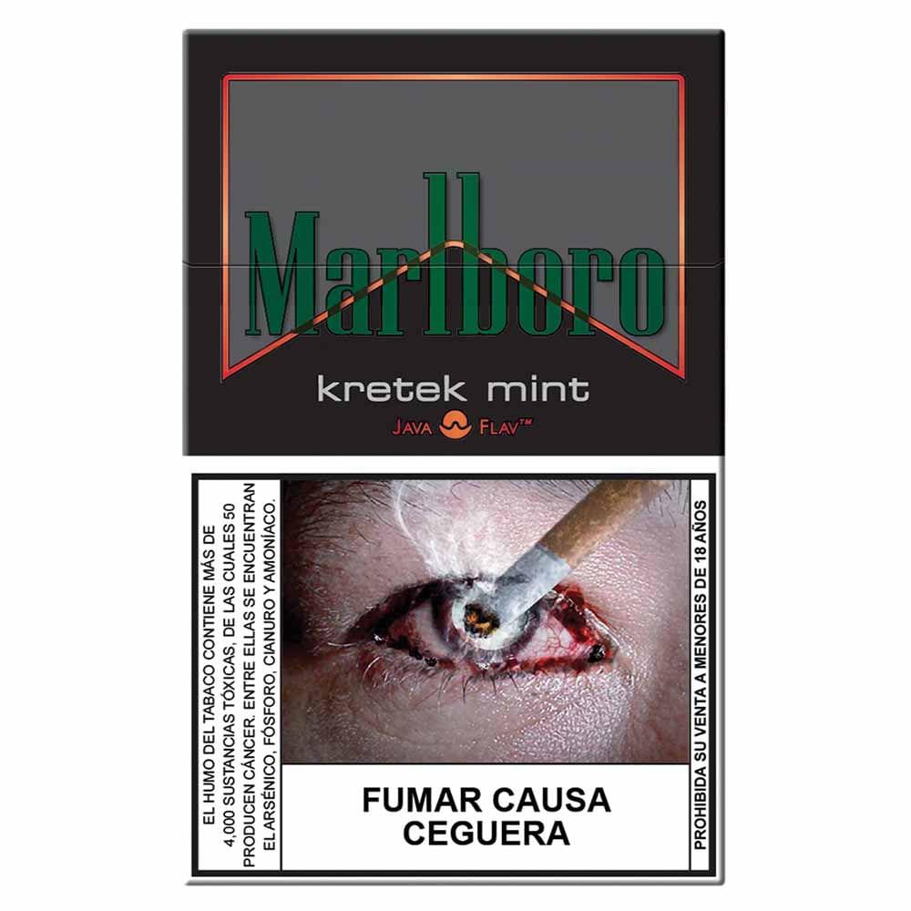 Cigarros Marlboro Kretek Mint Caja 20un Vivanda # Muebles Para Cigarros
