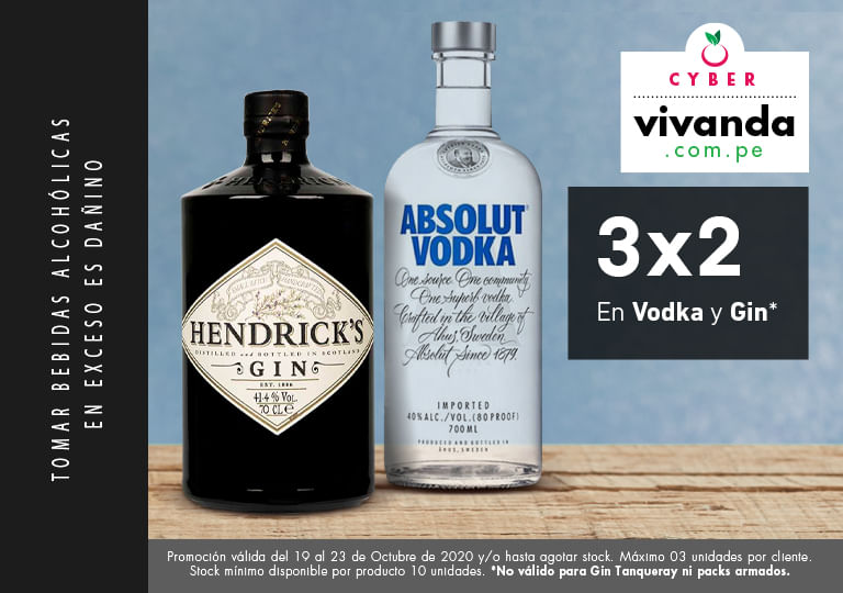 VODKA Y GIN