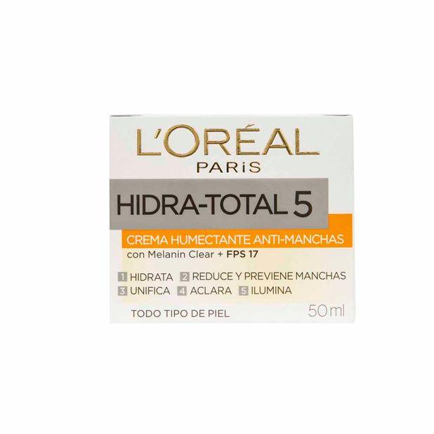 cuidado-facial-loreal-paris-hidratotal-5-caja-50ml