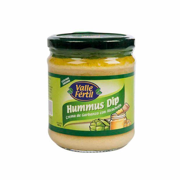 crema-humus-dip-de-garbanzo-con-alcachofa-frasco-460gr