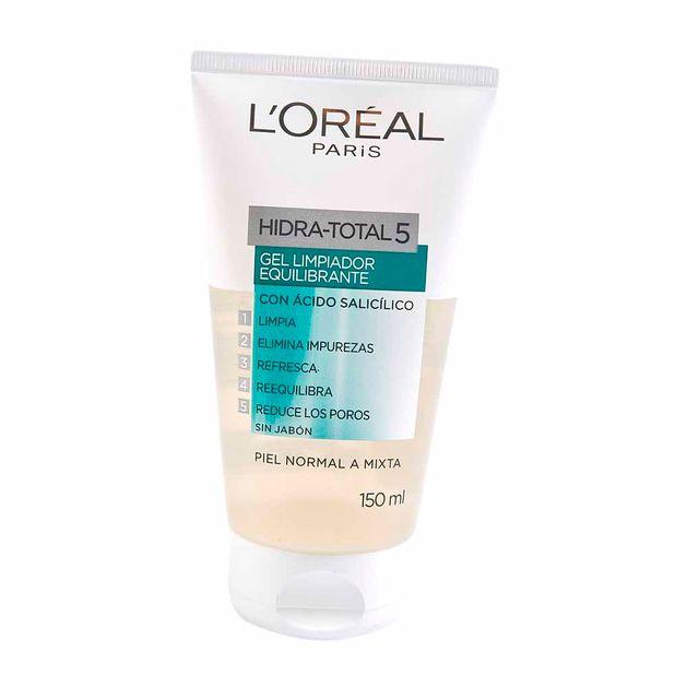 cuidado-facial-loreal-paris-hidratotal-5-tubo-150ml