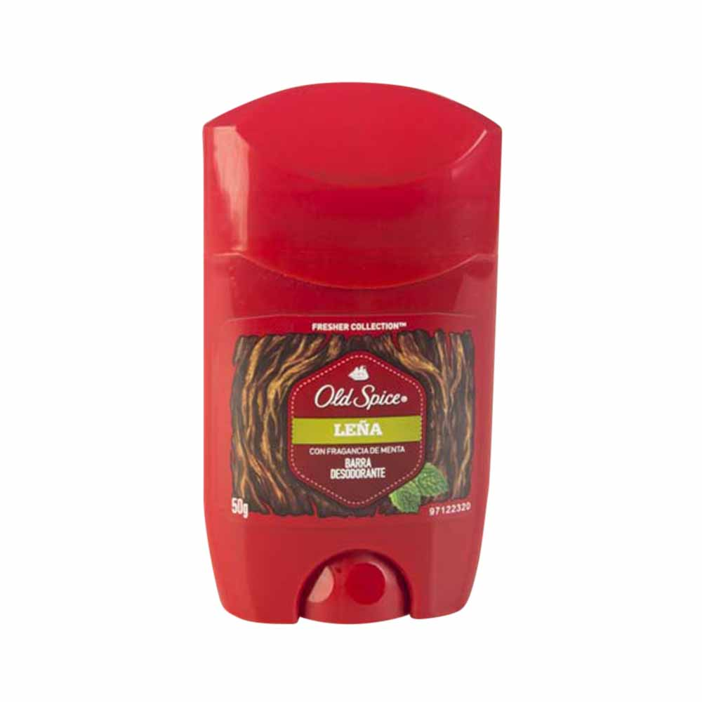 Desodorante en barra para hombre OLD SPICE Leña Frasco 50Gr - Vivanda