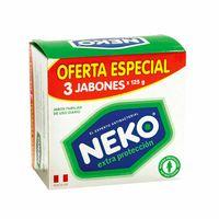 jabon-medicado-neko-extra-proteccion-3-pack-375gr