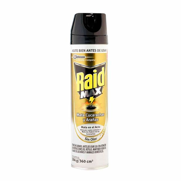 insecticida-spray-raid-max-botella-360ml