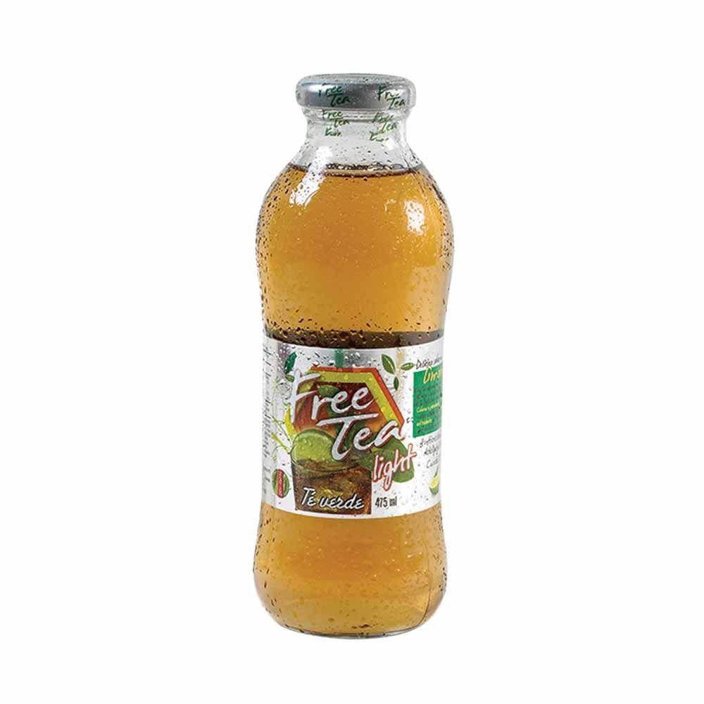 té líquido free tea light limón con antioxidantes botella 475ml