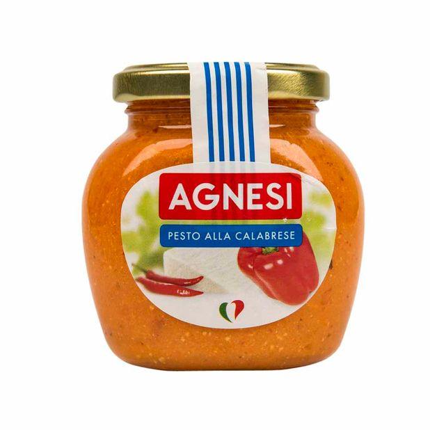 salsa-agnesi-pesto-a-la-calabrese-frasco-185gr