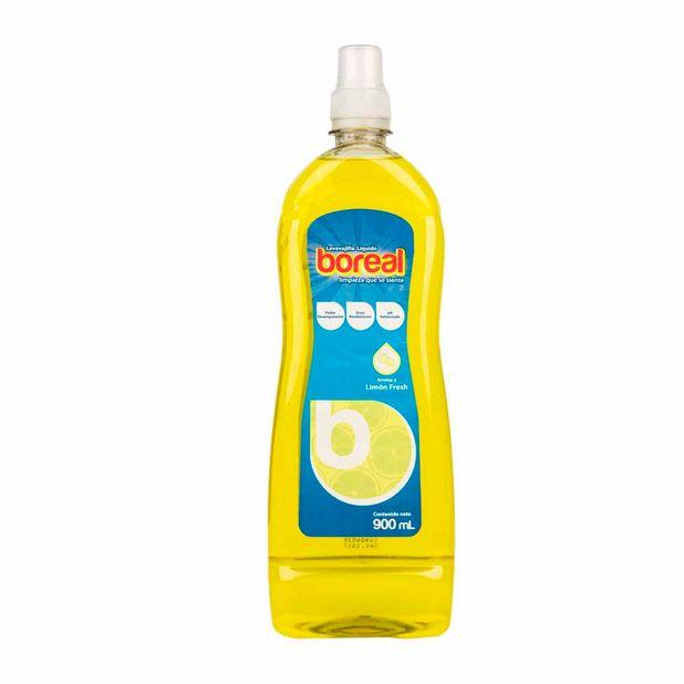 lavavajilla-liquido-boreal-limon-fresh-frasco-900ml