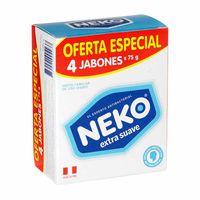 jabon-medicado-neko-extra-suave-4-pack-300gr