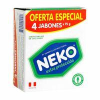 jabon-medicado-neko-extra-proteccion-4-pack-300gr