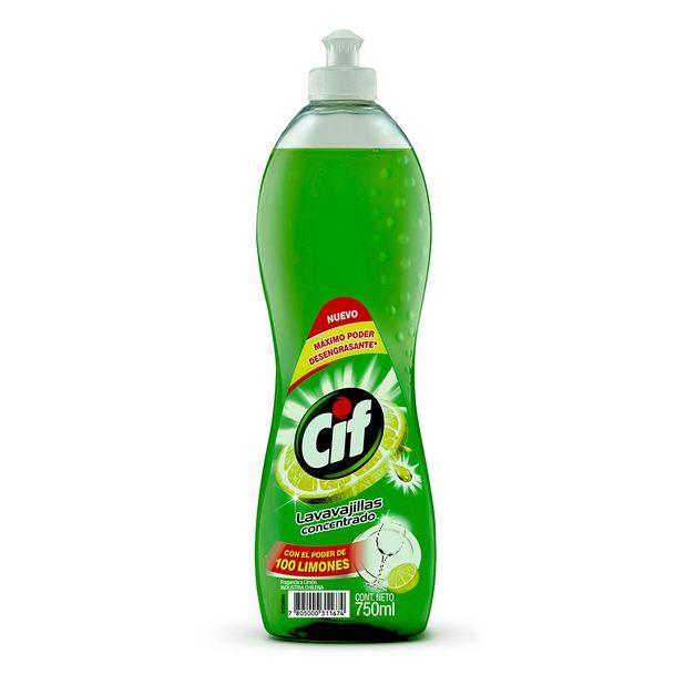 lavavajilla-liquido-cif-limon-frasco-750ml