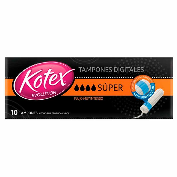tampon-kotex-evolution-super-con-aplicador-caja-8un