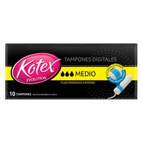 tampon-kotex-blue-protection-mediano-caja-10un
