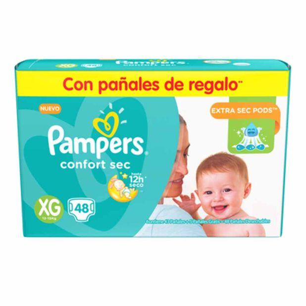 panal-para-bebe-pampers-confort-sec-talla-xg-paquete-48un