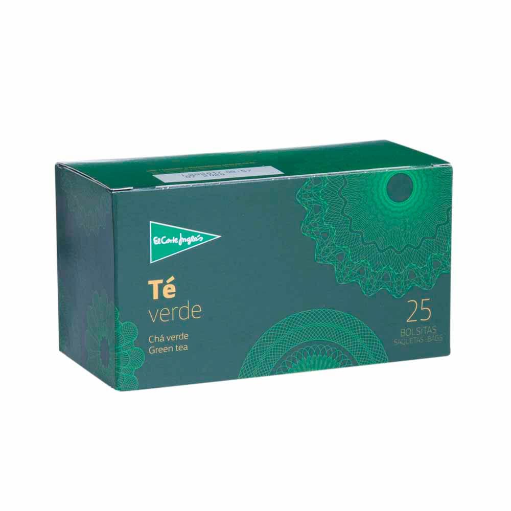 Té Verde EL CORTE INGLÉS Caja 25un Vivanda