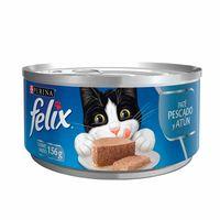 comida-para-gatos-felix-pate-de-pescado-y-atun-lata-156g