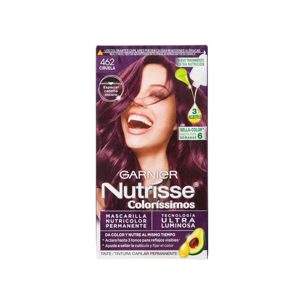 Colores de tinte para cabello garnier