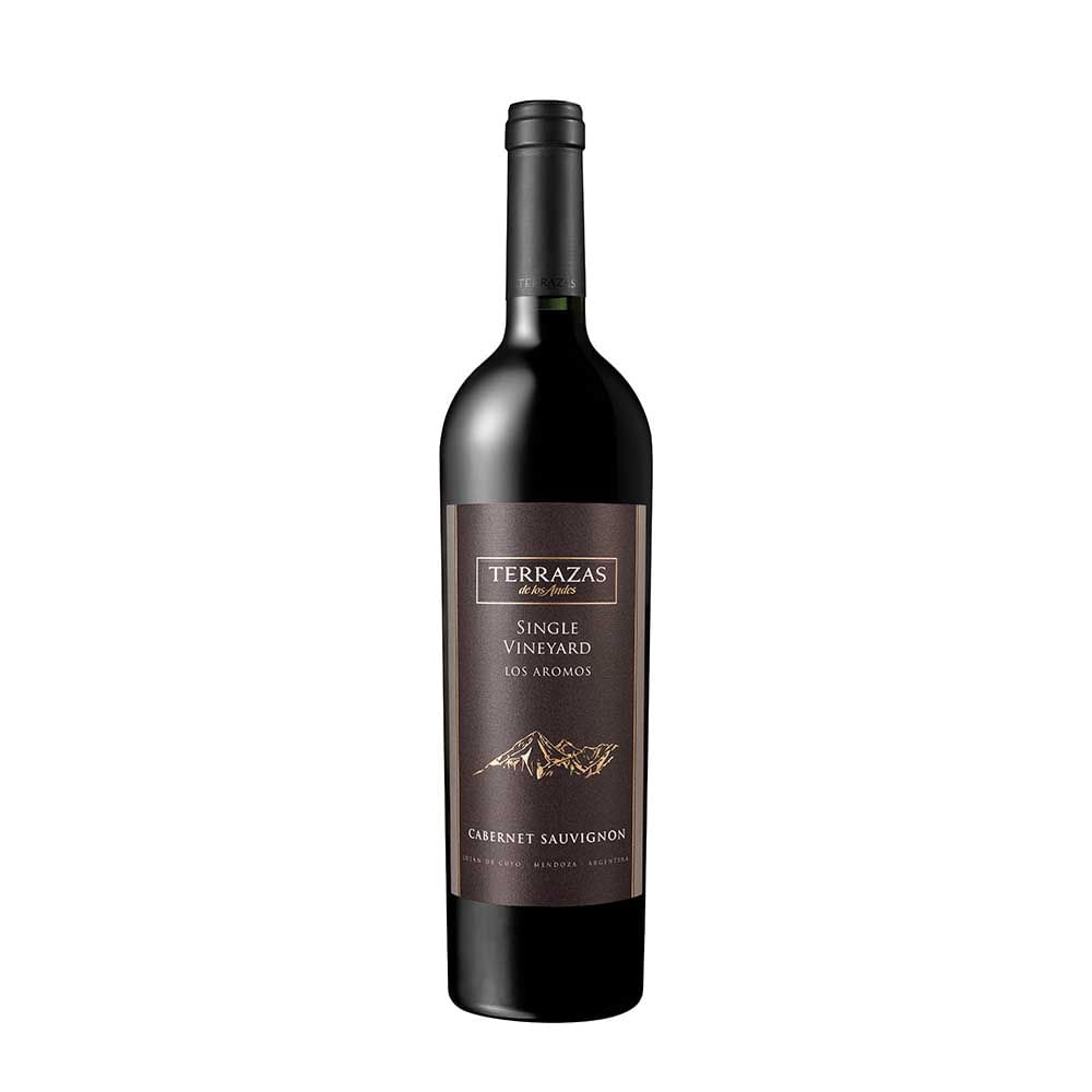 Vino Terrazas De Los Andes Single Vineyard Malbec Botella 750ml