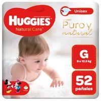 pañales-huggies-unisex-natural-care-talla-g-paquete-52un