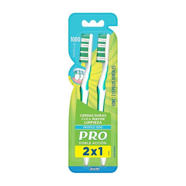 cepillo-dental-pro-doble-accion-duro-paquete-2un