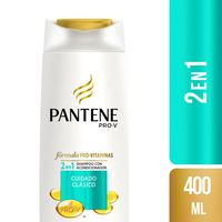 shampoo-pantene-pro-v-2en1-cuidado-clasico-frasco-400ml