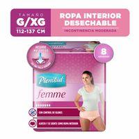 ropa-interior-desechable-plenitud-femme-incontinencia-moderada-g-xg-paquete-8un