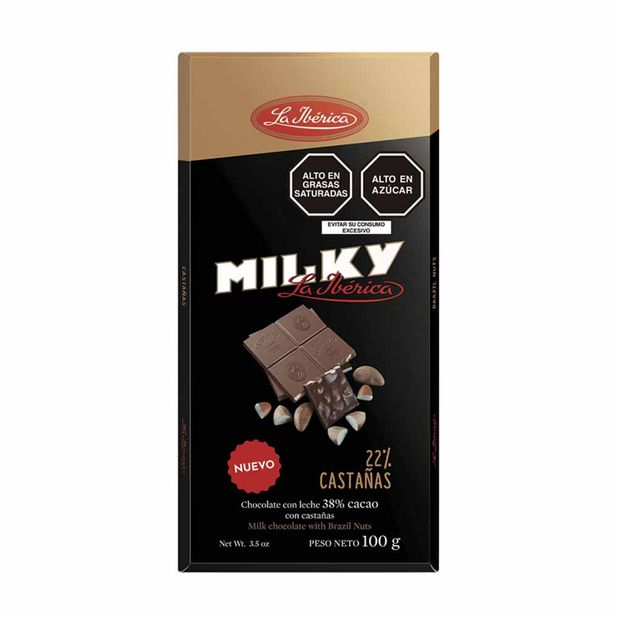 chocolate-la-iberica-milky-con-castañas-barra-100g