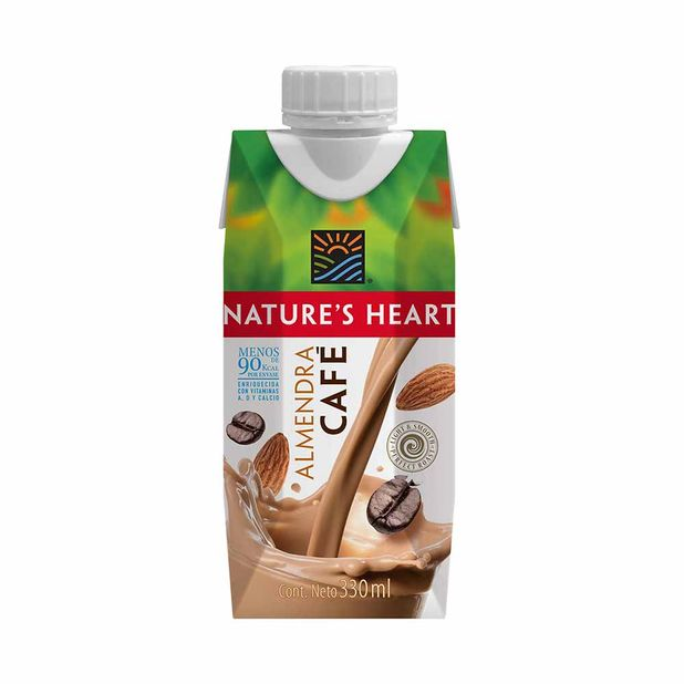 bebida-de-almendra-cafe-natures-heart-caja-330ml