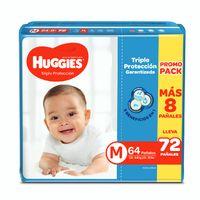 panales-para-bebe-huggies-triple-proteccion-talla-m-paquete-72un