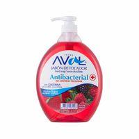 jabon-aval-antibacterial-frutos-rojos-1l