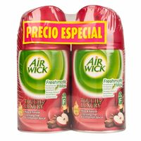 ambientador-en-spray-air-wick-freshmatic-crackling-fire-y-cinnamon-spice-repuesto-frasco-250ml-paquete-2un