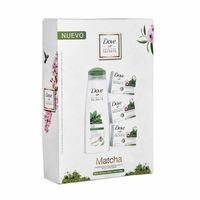 pack-dove-matcha-shampoo-frasco-400ml-jabon-caja-90g-paquete-3un