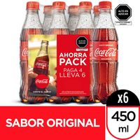 gaseosa-coca-cola-botella-450ml-paquete-6un
