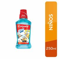 enjuague-bucal-colgate-plax-kids-minions-botella-250ml