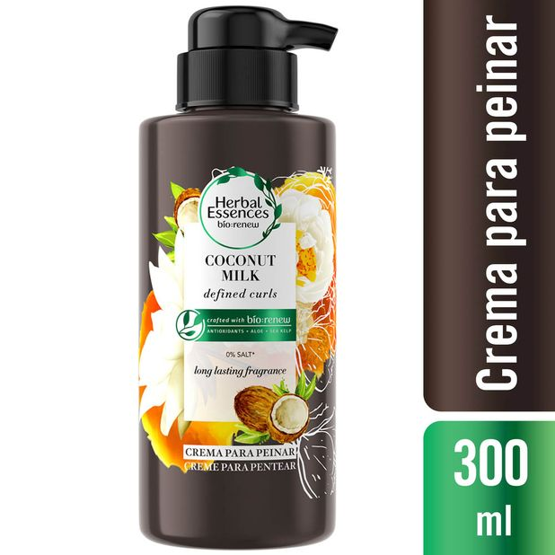 crema-de-peinar-herbal-essences-coconut-milk-frasco-300ml