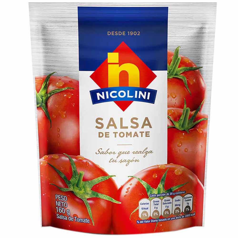 Salsa De Tomate Nicolini Doypack 160ml Vivanda