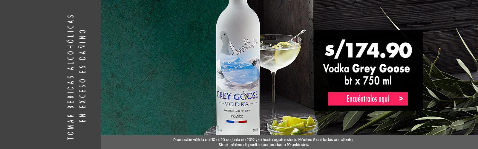 Grey groose