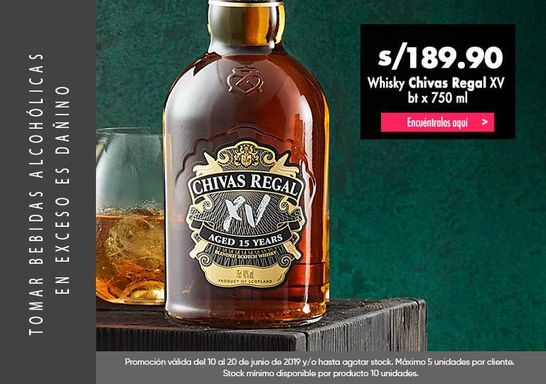 Whisky Chivas Regal 15